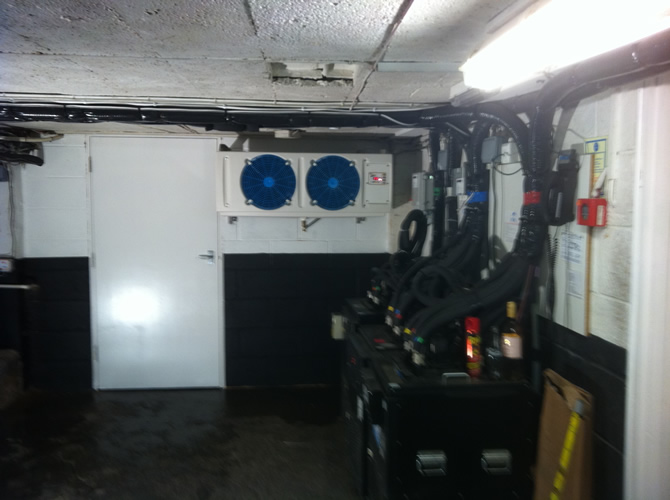 Photo of installed system